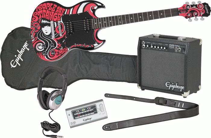 epiphone electric guitar packages. Black Bedroom Furniture Sets. Home Design Ideas