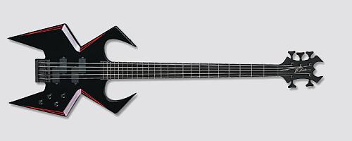 BC Rich Widow WMD Bass Guitar