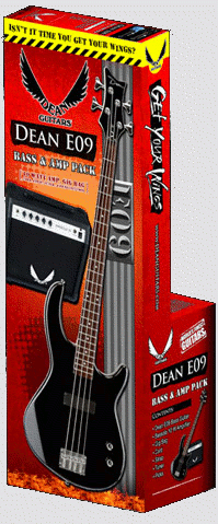 Dean Edge 09 Bass and Amp Pack - Click For Larger Image