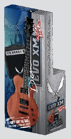 Dean Evo XM Guitar & Amp Pack - Click For Larger Image