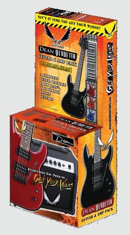 Dean Vendetta Guitar & Amp Pack - Click For Larger Image