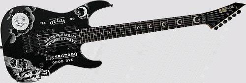 ESP KH-2 Kirk Hammett Ouija Signature Series Electric Guitar