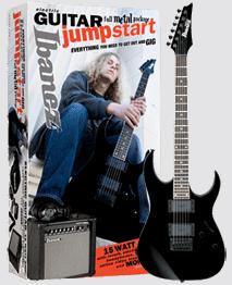 Ibanez IJX121 Metal Guitar Jumpstart Package - Click For Larger Image