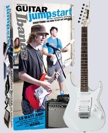 Ibanez IJX40 Electric Guitar Jumpstart Package - Click For Larger Image