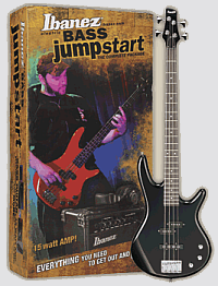 Ibanez IJXB190 Electric Bass Jumpstart Pack - Click For Larger Image