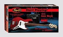 Fender Affinity Jazz Bass Pack - Click For Larger Image