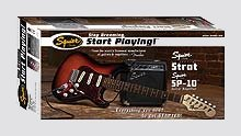 Fender SE Special Strat with Squier SP-10 Amp Value Pack - Click For Larger Image